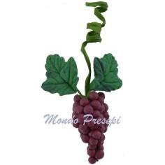 Grappolo d'uva rosata cm 2 Mondo Presepi