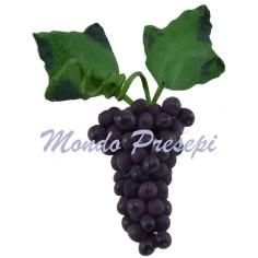 Grappolo d'uva nera cm 2 Mondo Presepi