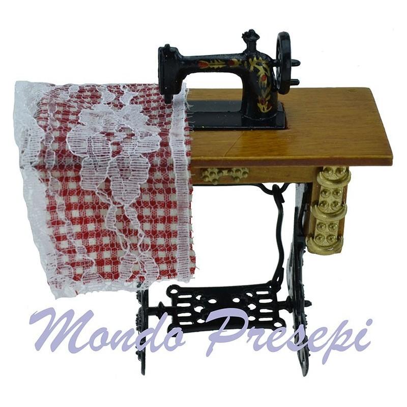Macchina da cucire con banco