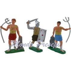 Set of 2 gladiators 7 cm
