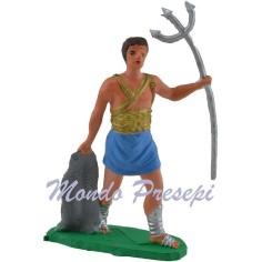 Gladiatore con tridente cm 7