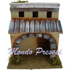 Mondo Presepi Casa Araba cm 15x11,5x16 h.