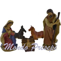 20 Cm Nativity resin