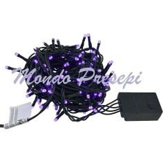 Chain 50 led warm light with light