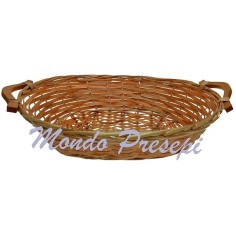 Wicker basket cm 52x38x12 h.