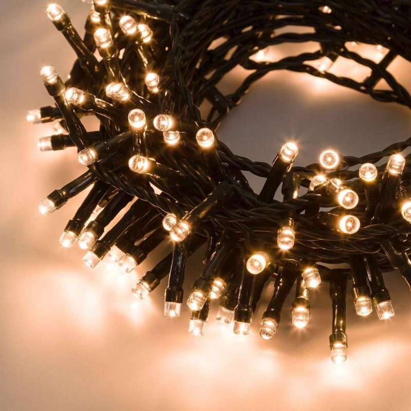 Chain 48 led warm light with light