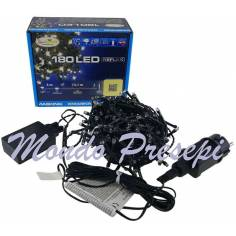 Chain 180 led's fuchsia with light games