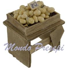 Mondo Presepi Banco con uova - miniature presepe D95U