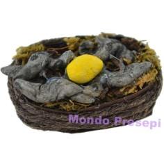Basket with eel