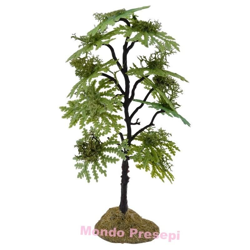 Albero cm 18 verde chiaro Mondo Presepi