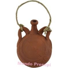Water bottle in terracotta 3.5 cm
