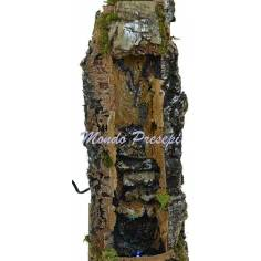 Mondo Presepi Cascata funzionante con rapide cm 16x20x37 h.