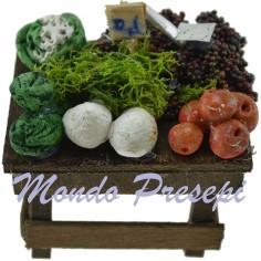 Banco frutta e verdura cm 6x5x4