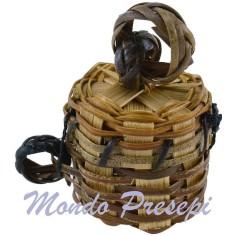 Basket with lid, Ø 3 cm