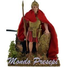 Soldato Romano in movimento cm 12 Landi