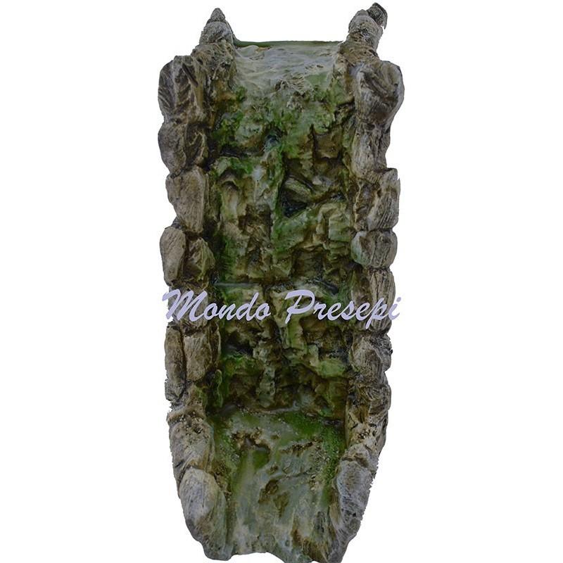 Mondo Presepi New - Ruscello - Cascata componibile in resina