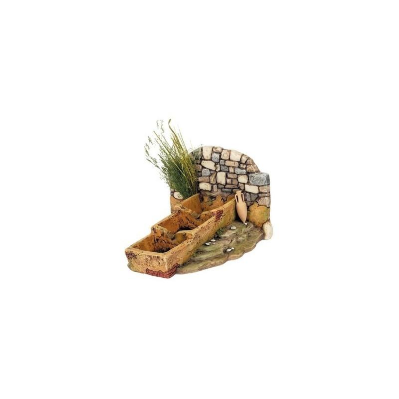 Mondo Presepi Fontana in resina da campagna - Cod. FN6