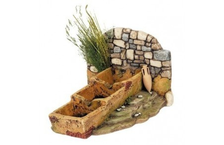 Resin fountain for countryside - Cod. FN6