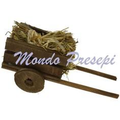 Mondo Presepi Carretto con paglia - 358884