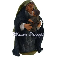 Cm 9 Woman with child in arm