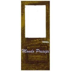 Wooden door cm 7x15x5 h.