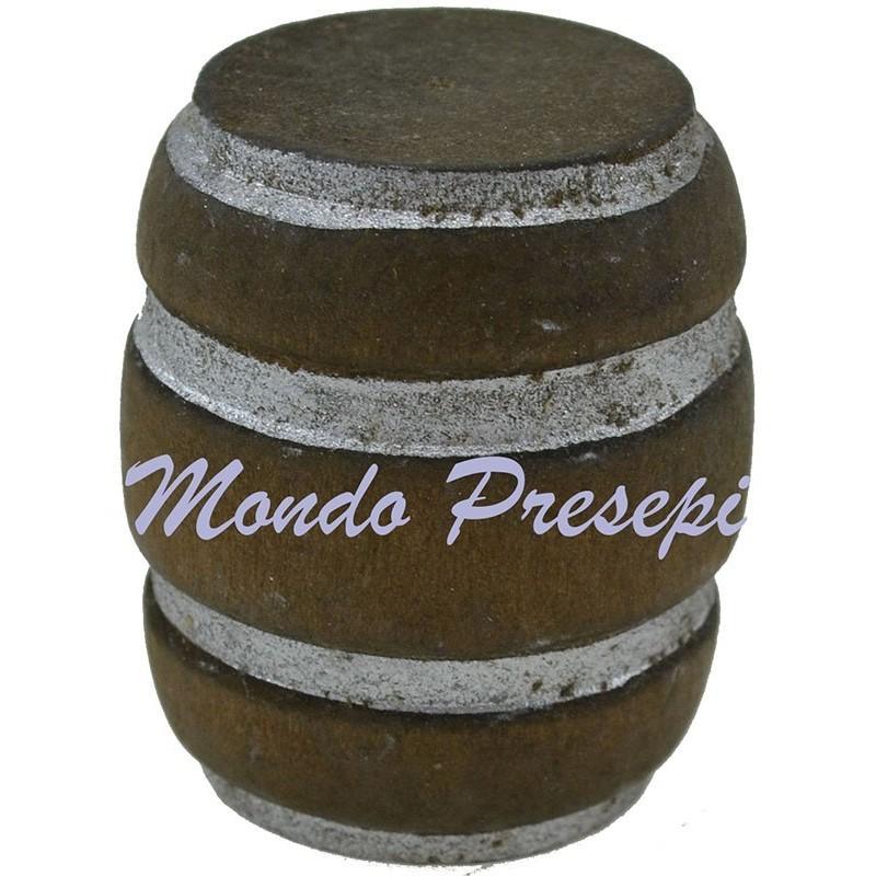 Mondo Presepi Botte lux in legno cm 4
