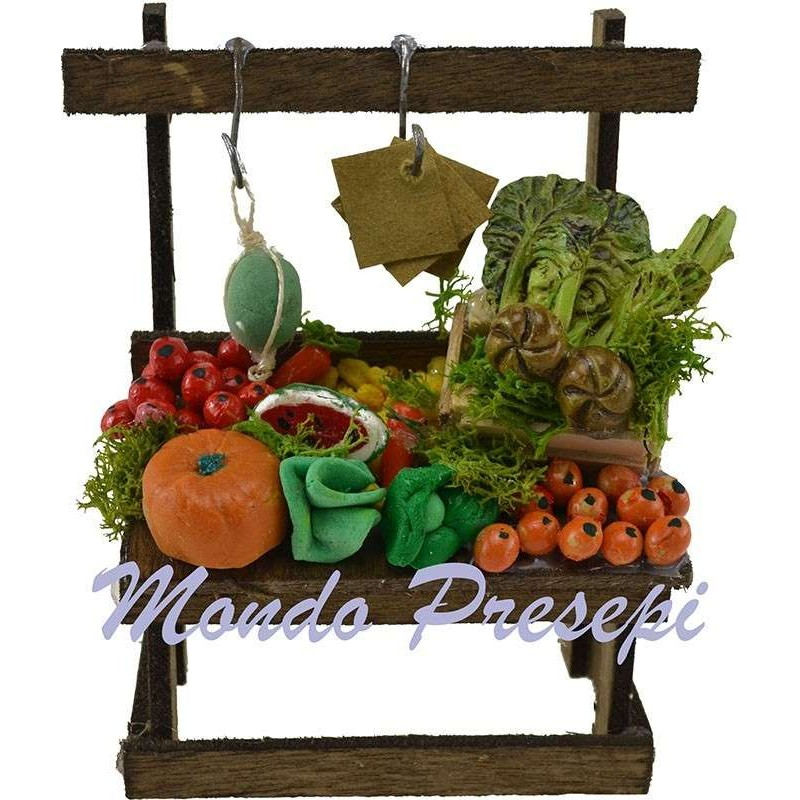 Banco frutta e verdura cm 8,5x5,5x12 h.