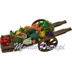 Cart with meats and cheeses deluxe cm 15,5