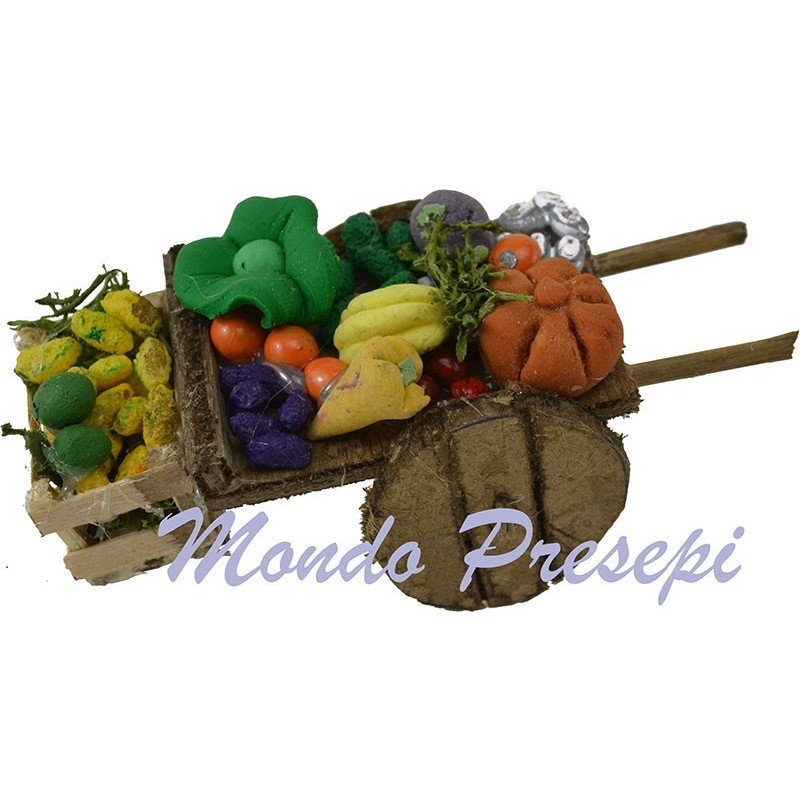 Cart fruits and vegetables lux small 9 cm  - 1
