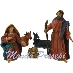 The nativity cm 23 set 5 pieces - Cod. MR23N5