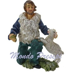 23 Cm Shepherd with sheep
