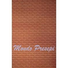 Panel Brick Red cm 20x25x1