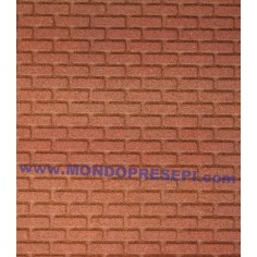 Panel Brick Red cm 20x25x1  - 1