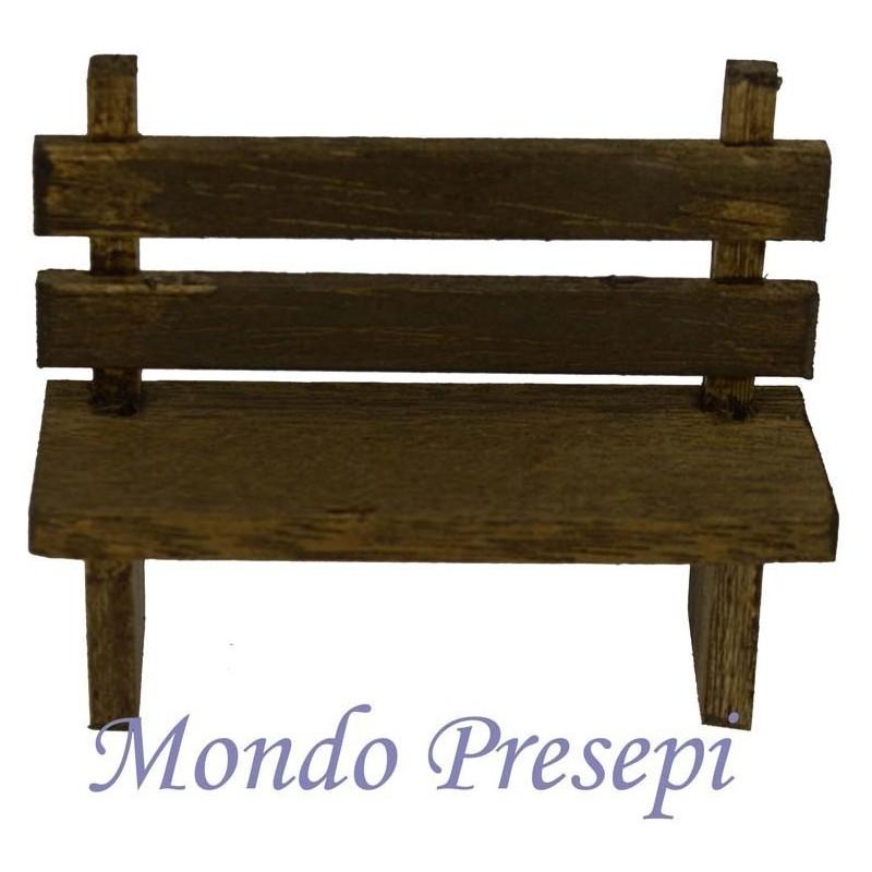Panchina in legno cm 6,5 - D6P