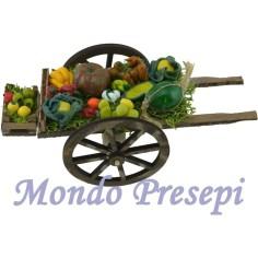 Mondo Presepi Carretto fruttivendolo deluxe cm 15