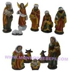 7 Cm Nativity set 12 subjects