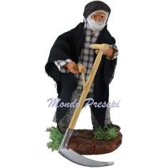 Man with scythe 10 cm.