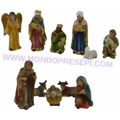 7 Cm Nativity set