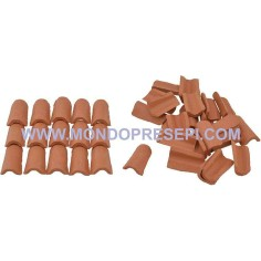 Terracotta tiles mm 12x22 available in