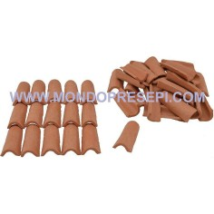 Terracotta tiles mm 17x32 available in