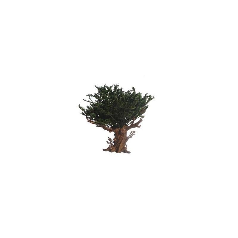 Albero foglie verdi Oliver 18 cm