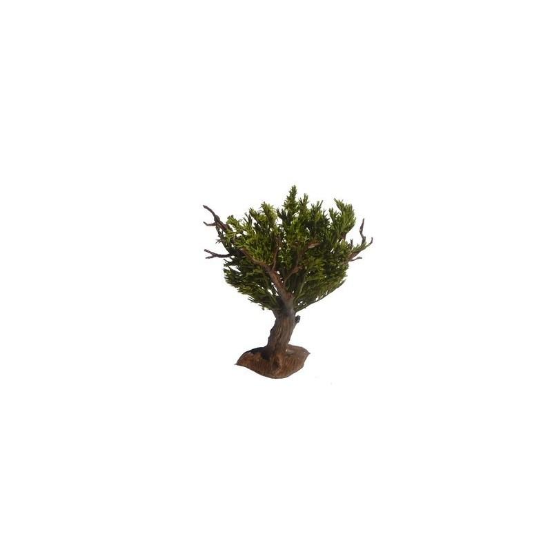Mondo Presepi Albero foglie verdi h. 14 cm