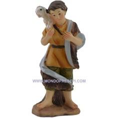 Mondo Presepi Cm 9 Pastore con pecora a spalle