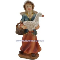 Cm 9 Peasant woman with goose  - 2