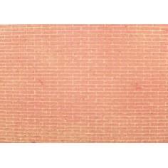 Mondo Presepi Pannello sughero Colorato a mattoni piccoli cm
