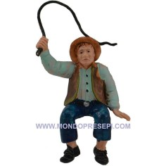 Carter with whip 10 cm Euro  - 1