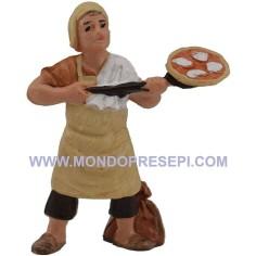 Mondo Presepi Pizzaiolo 7 cm Euromarchi