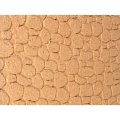 Pannello di sughero a pietre piccole cm 92x33 - Art. FSXL92