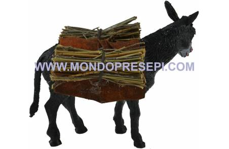 Lux donkey with wood - Cod. AAL