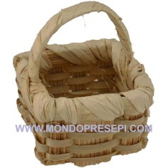 Basket with handle 3x3 cm  - 1